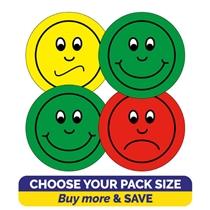 Behaviour Stickers - Faces (32mm)