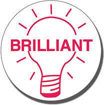 Brilliant Light Bulb Stamper (25mm)