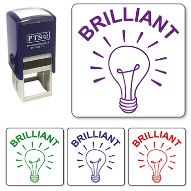 Brilliant Lightbulb Stamper (25mm)