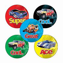 Car & Motorbike Stickers (70 Stickers - 25mm)