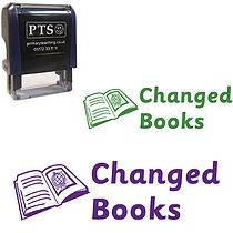 Changed Books Stamper (38mm x 15mm)