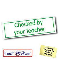 Checked By Your Teacher Stamper - Twist N Stamp