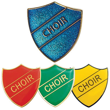 Choir Enamel Badge (30mm x 26.4mm)