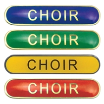 Choir Enamel Badge (45mm x 9mm)