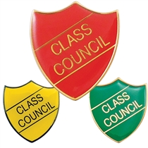 Class Council Enamel Badge (30mm x 26.4mm)