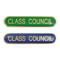 Class Council Enamel Badge (45mm x 9mm)