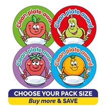 Clean Plate Award Stickers (32mm) Brainwaves
