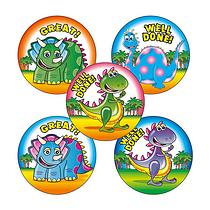 Cleversaurus Stickers (30 Stickers - 25mm)
