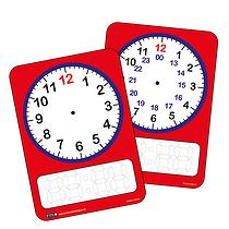 Clock Whiteboard (A4)