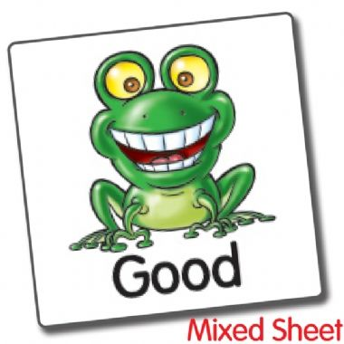 Good to be Green Stickers Value Pack (4480 Stickers - 16mm)