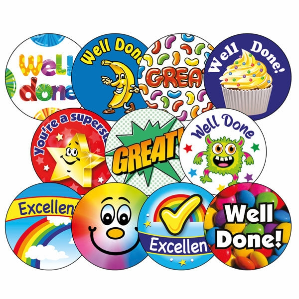 Scented Stickers Value Pack x 270 Primary Teaching Services