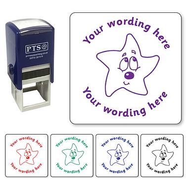 Customised Bashful Star Stamper (25mm)
