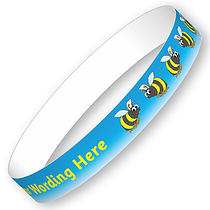 Customised Bees Wristbands (5 per pack)