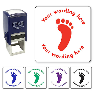 Customised Footprint Stamper (25mm)