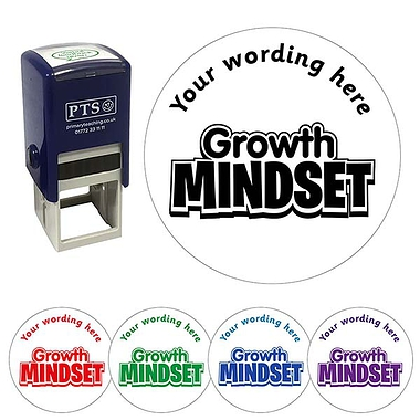 Customised Growth Mindset Stamper (21mm)