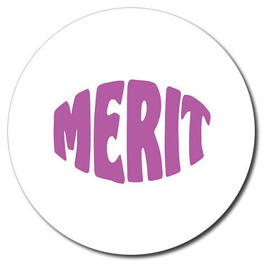 Customised Merit Stamper - Purple (25mm)