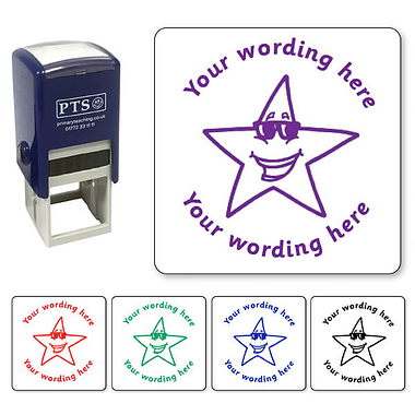 Customised Star Stamper (25mm)