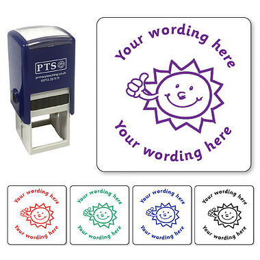 Customised Sunshine Stamper (25mm)