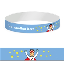 Customised Wristbands - Pedagogs - Superhero (5 Wristbands)