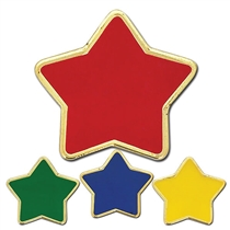 Enamel Star Badge (23mm)