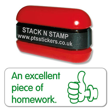 Excellent Homework Stamper - Stack N Stamp