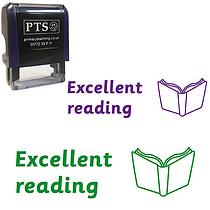 Excellent reading Stamper (38mm x 15mm)