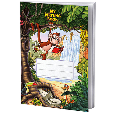 Exercise Book - Jungle (A4 - 40 Pages)
