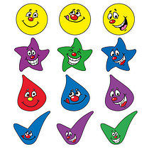 Expressions Stickers - Mixed Shaped (140 Stickers - approx. 15mm)