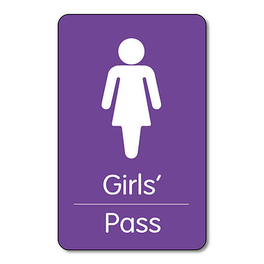 Girls' Pass - Plastic Class Pass (10 Wallet Sized Cards)
