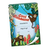 Good Behaviour Praisepadz - Monkey Scene (60 Pages - A6)