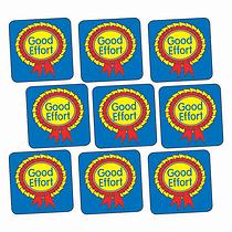 Good Effort Stickers - Rosette (140 Stickers - 16mm)