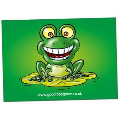 Good to be Green Paper Poster (A2 - 620mm x 420mm)