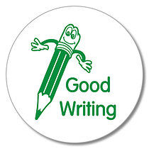 Good Writing Pencil Stamper - Green Ink (25mm)