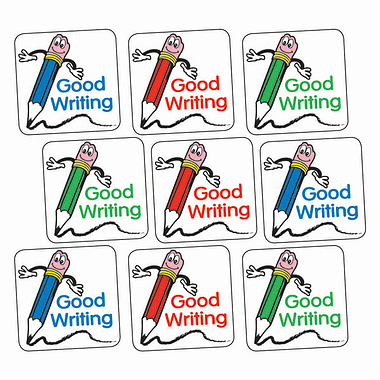 Good Writing Stickers (140 Stickers - 16mm)