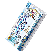 Grammar/Vocabulary Book - Polar (210mm x 99mm - 56 Pages)