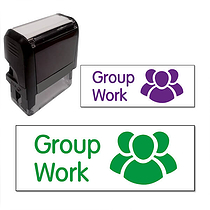 Group Work Stamper (38mm x 15mm)
