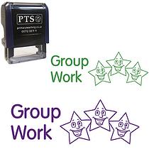 Group Work Stamper - Stars (38mm x 15mm)