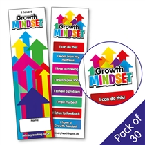 Growth Mindset Bookmarks (30 Bookmarks)