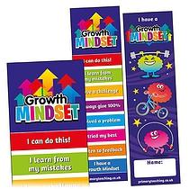 Growth Mindset Bookmarks (30 Bookmarks)