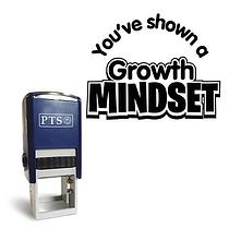 Growth Mindset Stamper - Black Ink (25mm)