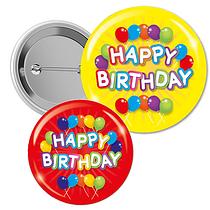 Happy Birthday Badges (10 Badges)