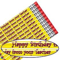 Happy Birthday Pencils (12 Pencils)