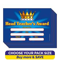 Head Teacher's Award Certificates (A5)
