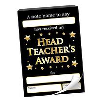 Head Teachers Award Praisepadz - 60 Notes Home (A6)