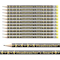 Headteacher's Award Foil Pencils (12 Pencils) Brainwaves