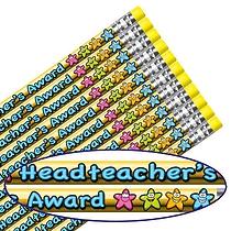 Headteacher's Award Metallic Pencils DUE BACK DECEMBER  (12 Pencils) Brainwaves