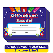 Holographic Attendance Award Certificates (A5)