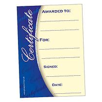 Holographic Classic Design Certificates (20 Certificates - A5)