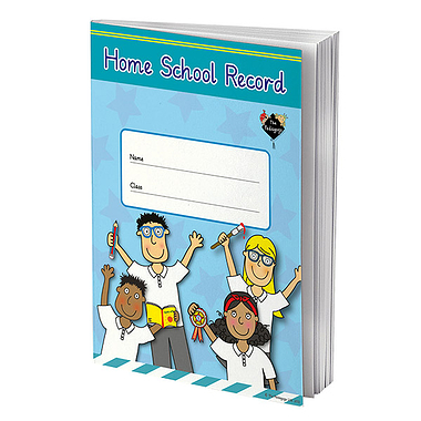 Home School Record Book - Pedagogs (A5 - 80 Pages)