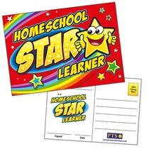 Homeschool Star Learner Postcards (20 Postcards - A6)